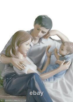 New Lladro A Priceless Moment Family Figurine #8056 Brand Nib Large Save$$ F/sh
