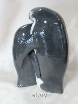 New Lladro Penguin Family Figurine #8696 Brand New In Box Love Cherish Cute F/sh