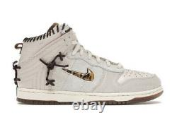 Nike Dunk High Bodega Legend Sail Friends and Family Size 9.5 BRAND NEW IN HAND