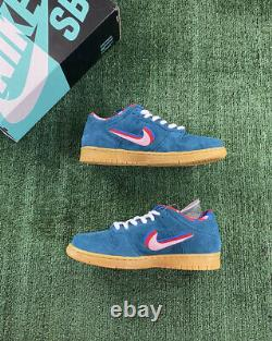 Nike Sb Dunk Low Parra Friends & Family Teal Size 9 Brand New