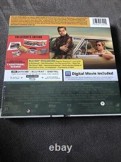 Once Upon a Time in Hollywood (Blu-ray, 2019, Collector's Edition) Brand New