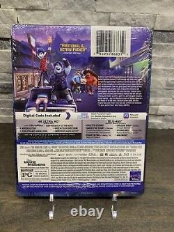 Onward Best Buy Exclusive Steelbook 4K Blu-ray Digital Brand New Disney Pixar