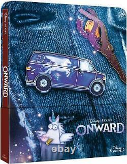 Onward (Blu-ray Steelbook) Brand New & Sealed