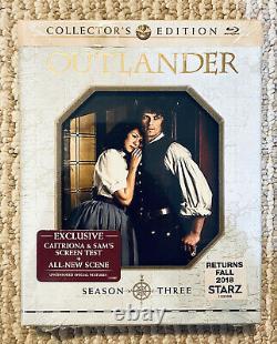Outlander Season 3 (5 Disc Blu-Ray) Collectors Edition RARE OOP Brand NEW