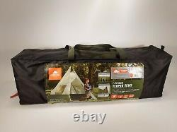 Ozark Trail 7-Person Large Teepee Tent 12' x 12' Family Camping Travel Brand New