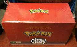 Pokemon Mega Collection Season 1-21 DVD BRAND NEW AND SEALED
