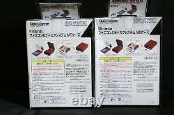RARE collector's Nintendo MiniDisc MD Family Computer Case Banpresto Brand New