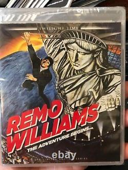 REMO WILLIAMS The Adventure Begins Blu-Ray TWILIGHT TIME LIMITED BRAND NEW OOP