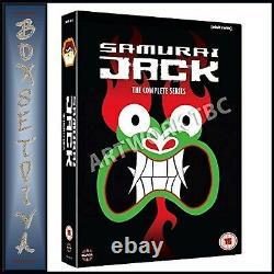 Samurai Jack The Complete Series Seasons 1 2 3 4 5 Brand New DVD Boxset