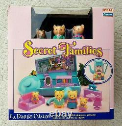 Secret Families Kitty (kitten, Playmates Takara!) No Sylvanian Doll. Brand New
