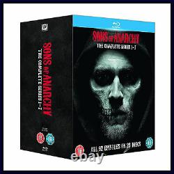 Sons Of Anarchy Complete Series 1 2 3 4 5 6 & 7 Brand New Blu-ray Boxset