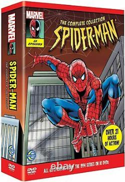 Spiderman 1994-1995 Animated Series 1-5 Complete DVD Box Set Brand New Sealed