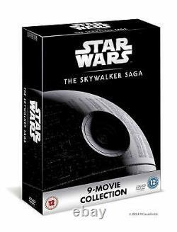 Star Wars The Skywalker Saga Complete Boxset Movies 1 9 Brand New DVD