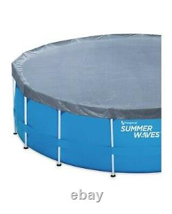 Summer Waves 12ft Steel Frame Family Pool + Filter Pump Brand New! FREE P&P