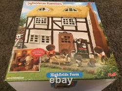 Sylvanian Families Flair Highlands Farm Brand New In Box Rare Collecto