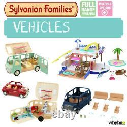 Sylvanian Families Vehicle Car Caravan Range Choose Your Set Brand New In Box