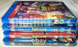 TOY STORY 1-4 Brand New on 3D + 2D BLU-RAY Region-Free Movies 1 2 3 4 Collection