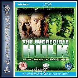 The Incredible Hulk -the Complete Collection- Fully Restored Brand New Bluray