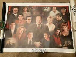 The Sopranos Family Giclee Canvas Tony Soprano Brand New