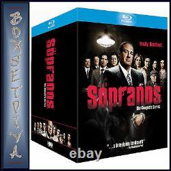 The Sopranos The Complete Series Boxset Brand New Bluray Region Free