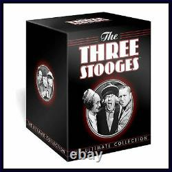 The Three Stooges Ultimate Collection Brand New DVD Boxset