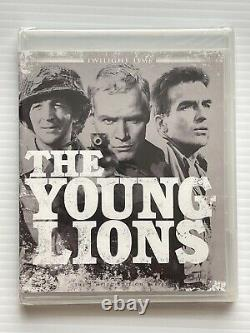 The Young Lions Blu-ray Twilight Time Limited Edition Brand New OOP