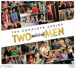 Two and a Half Men The Complete Series Season 1-12 BRAND NEW DVD SET