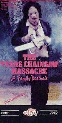 Vhs THE TEXAS CHAINSAW MASSACRE A Family Portrait 1988 BRAND NEW FACTORY SEALED