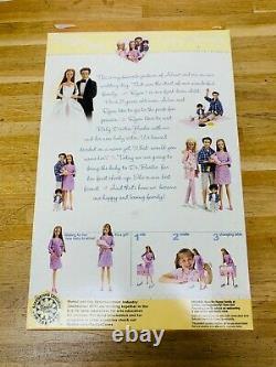 Vintage Pregnant Midge & Baby Happy Family Mom Barbie Doll Brand New In Box