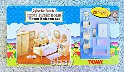 Vintage Sylvanian Families Master Bedroom (sweet Home, Tomy 1985!). Brand New