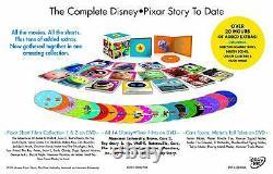 Walt Disney Pixar 25 Disc DVD Movie Complete Collection Film Brand New Box Set