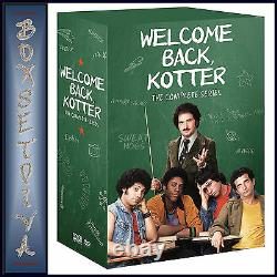 Welcome Back Kotter Complete Series -seasons 1 2 3 & 4brand New DVD Boxset