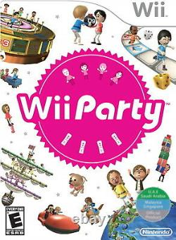 Wii Party Nintendo Wii Over family friendly 70 mini-games in all Brand NEW