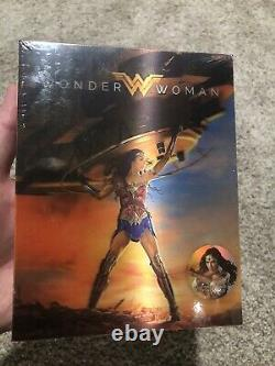 Wonder Woman Blufans Exclusive Double Lenticular Brand New 4K